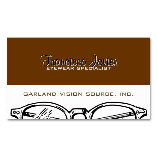 Best Eye Doctor Business Card Templates Images On