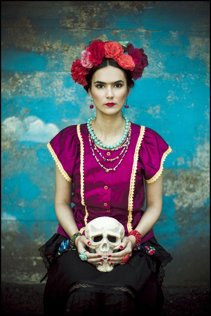 fot. Emilia Kallinen Frida Kahlo isnpired photoshoot