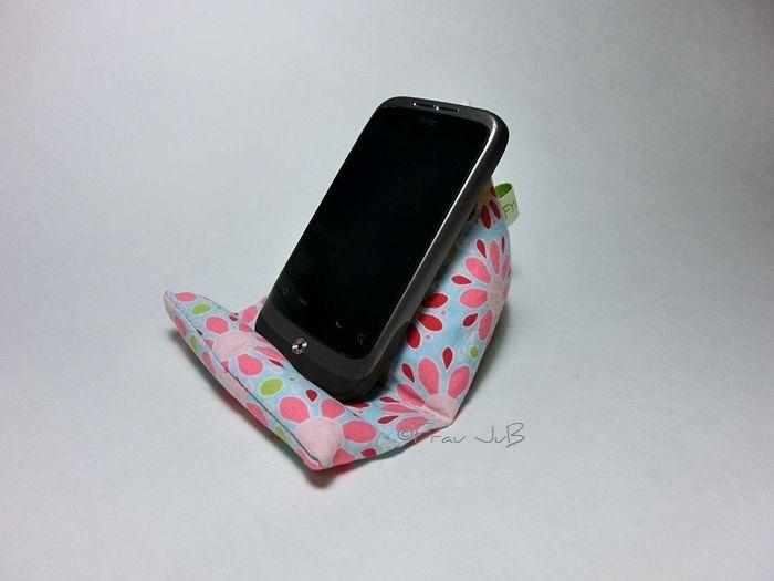 """Handy-Zubehör - Sitzsack für`s Smartphone """"Blumen"""" - ein Designerstück von FrauJuB bei DaWanda"""