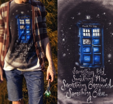 ドクター·フーエイミーの結婚式の歌のシャツ。すごい!