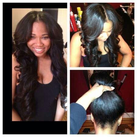 versatile weave hairstyles : Versatile weaveSilk Based, Human Hair Extensions, Nature Hairline ...