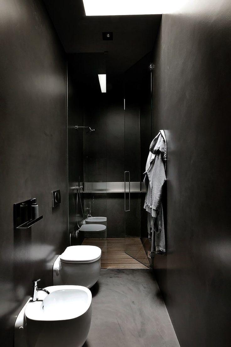 1000 idées sur le thème Salles De Bains Sombres sur Pinterest ...