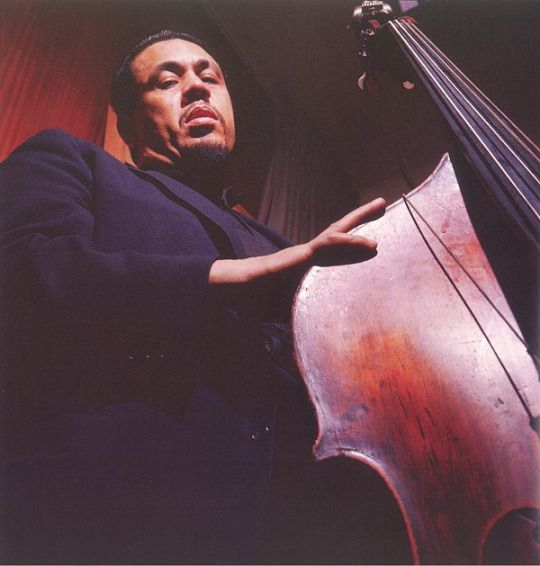Charles Mingus in 1959 (photo by Lee Friedlander)
