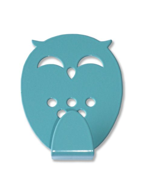 Sleepy Owl is a smart and stylish wall hook suitable for children's room,  halls, kitchens or bathrooms. Perfect for jackets, backpacks,towels or  other small ...