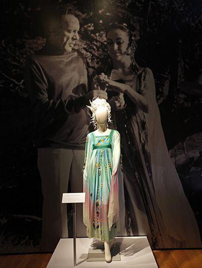 The Gina Fratini dress worn by Elizabeth Taylor for her second wedding to Richard Burton.