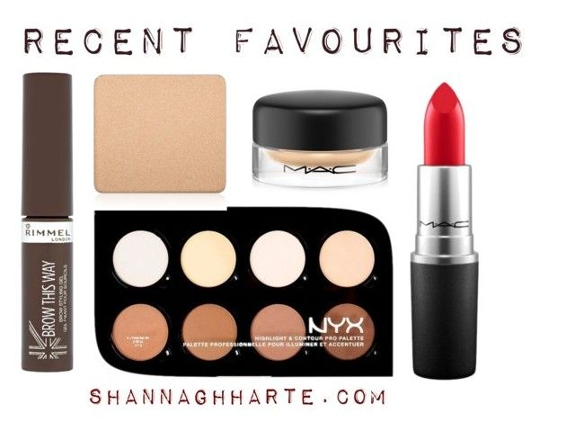 Recent Faces by shannagh-harte on Polyvore featuring beauty, NYX, MAC Cosmetics and Rimmel