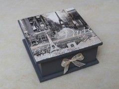 Dřevěná krabička VINTAGE