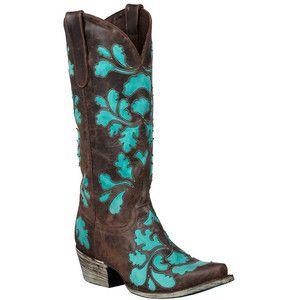 Pista botas femininas 'damasco' botas de vaqueiro