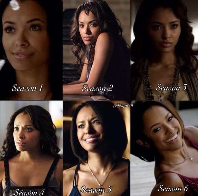 I like Bonnie throughout all the seasons except when she ignored stefan because she 'couldn't forgive him' for what happend to her Grams, come in it was either Elena or her Grams and I think Grams got to live long enough