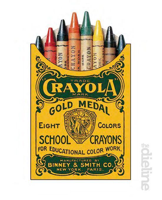 History of Crayola crayons