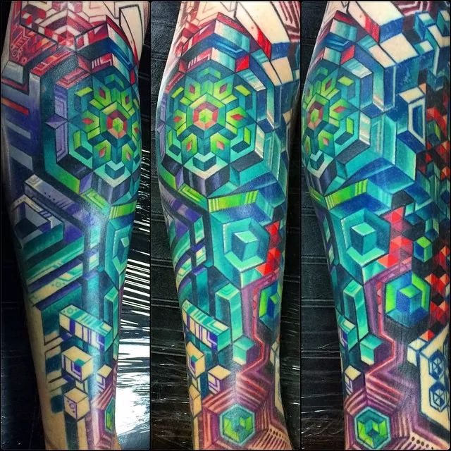 Innovative Pattern Tattoos by Mike Cole | Tattoodo
