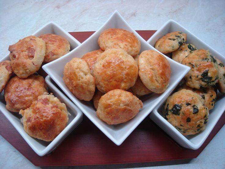 Τεμπελικα πιτακια με ζαμπον,φετα,σπανακι