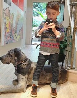 Nugget Style. Adorable stylish babies. And that beautiful Dane! Want!!