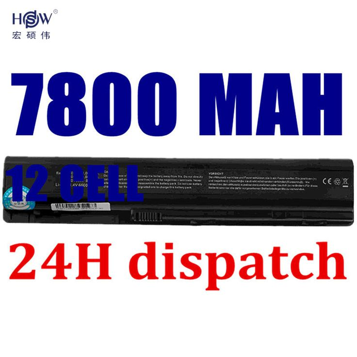 HSW 7800mah BATTERY FOR HP Pavilion DV9000 DV9100 DV9200 DV9300 DV9400 DV9500 DV9600 DV9700 HSTNN-IB34 HSTNN-LB33 batteria akku #Affiliate