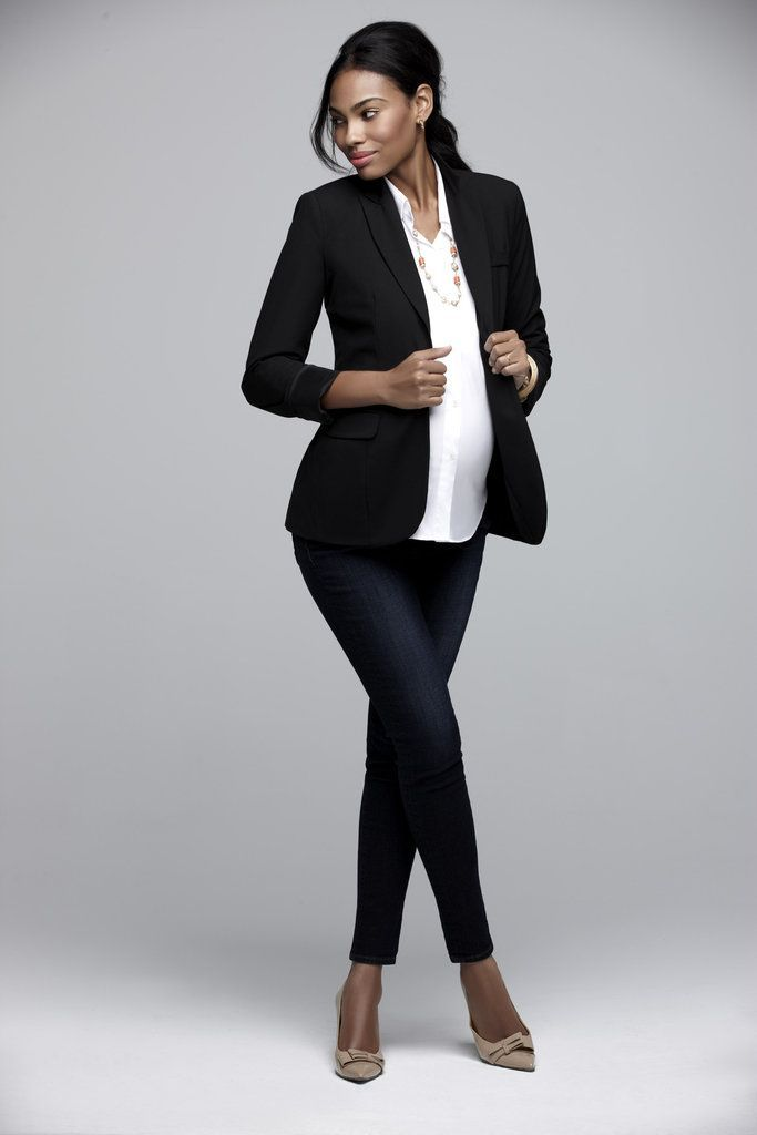Elegant And Comfy Maternity Outfits For Work