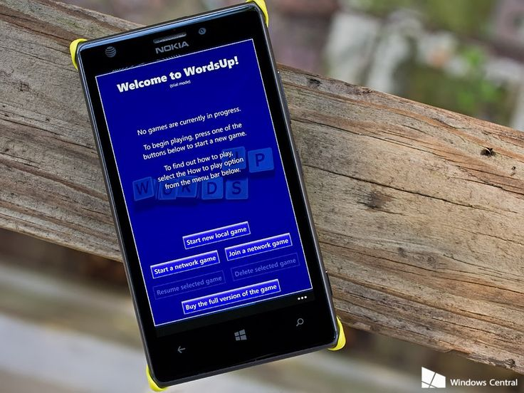WordsUp, a quick look at a new Scrabble styled game for Windows Phone and Windows 8