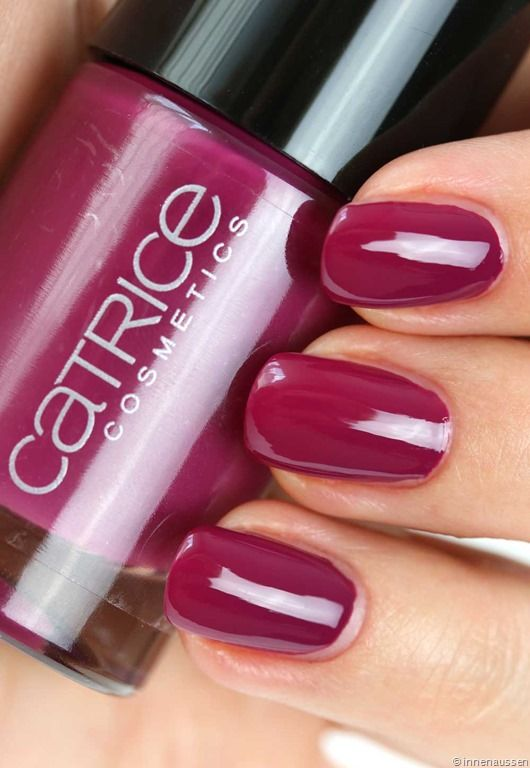 Catrice-Nagellack-95-For-some-it's-plum-Swatch