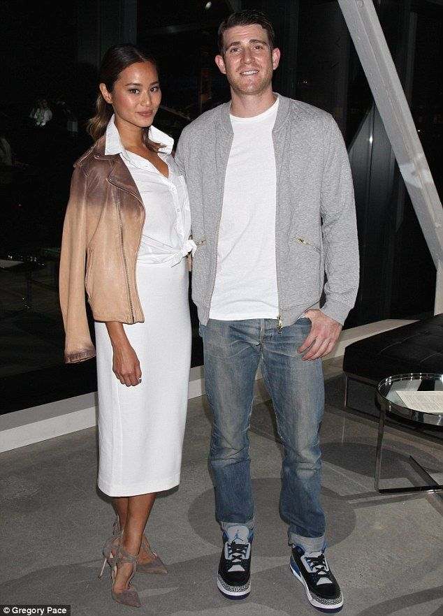 Date night: The 32-year old actress and her 37-year-old beau started dating in early 2012; pictured in September at the House of Gant presentation during New York Fashion Week