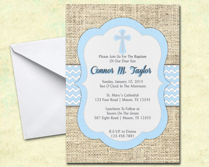 37 best Baptism, Christening and Communion Invitations and Thank You