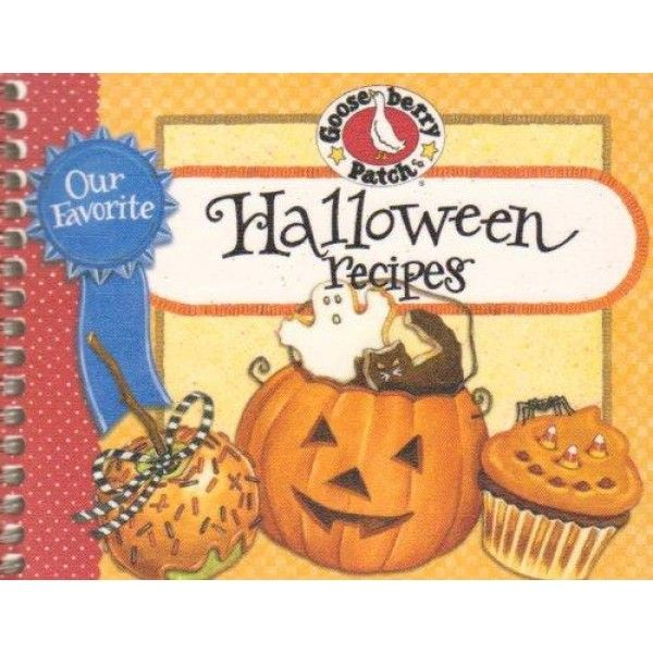 Our Favorite Halloween Recipes (Our Favorite Recipes Collection)  Over 60 frightfully fun recipes & as many tips. Purse-friendly size make meal-planning on the go easy. Durable softcover, 128 pages. Author : Gooseberry Patch