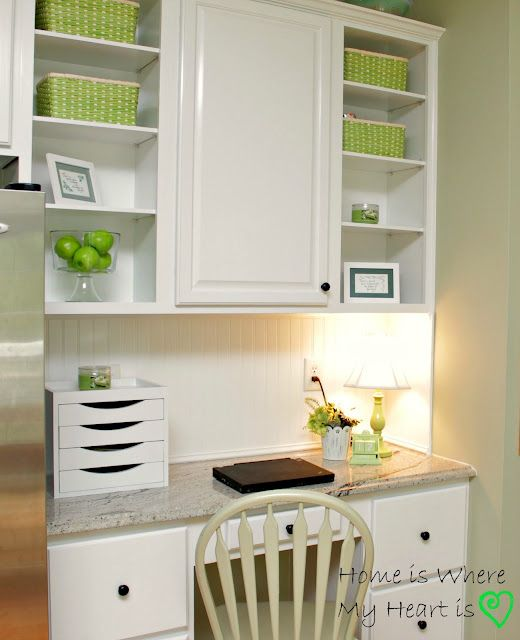 17 Best Ideas About Kitchen Desk Areas On Pinterest