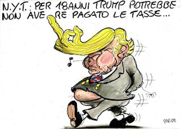 Le tasse di Donald Trump...