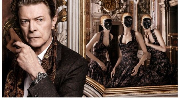 """David Bowie starring in the latest campaign of Louis Vuitton for """"L'Invitation au Voyage"""""""
