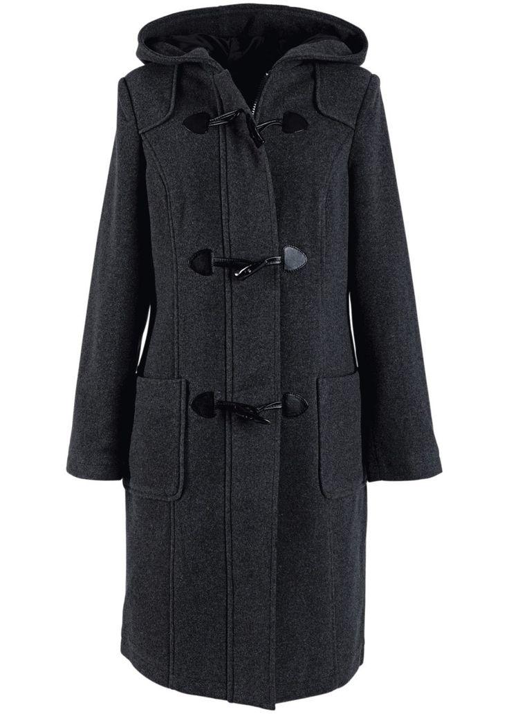 Vlněný kabát Skvělý kabát z měkkého • 1499.0 Kč • bonprix