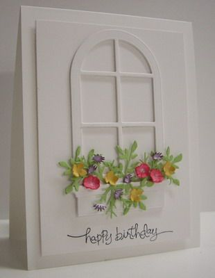 Stamping with Loll: Spring Window Box