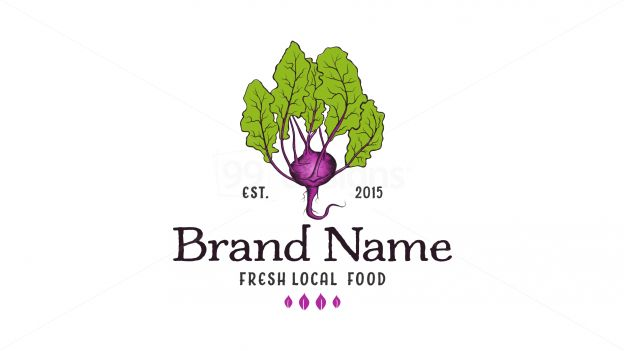 organic fresh veggie on 99designs Logo Store