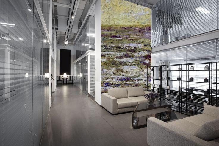 17 beste idee n over hoge muren op pinterest hoge plafonds en hoge muren versieren - Versieren kantoor ...