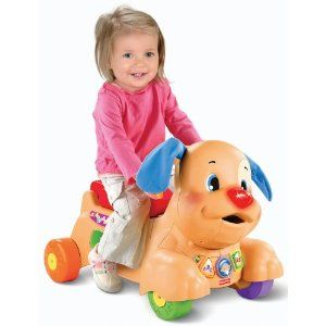 BEST BUY!! Fisher-Price Laugh and Learn Stride-to-Ride Puppy CHEAP