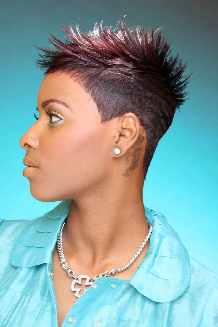 Uncategorized short gray african american hairstyles 4 tight curls short hairstyle 2013 - Khemistre Hair Studio Tiphanie Short Black Hairstyleschic