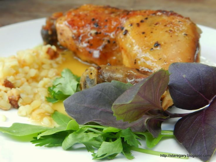 Stare Gary: Kurczak w winie i ziołach z wolnowaru