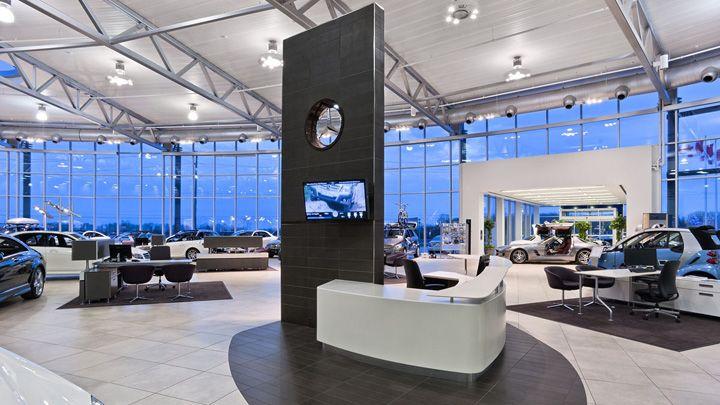 Mercedes-Benz dealership by GH+A, Burlington – Canada » Retail Design Blog