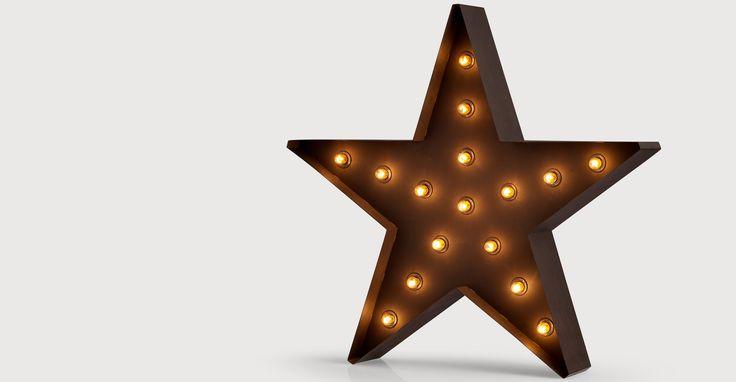 Broadway Star Floor Lamp, Black