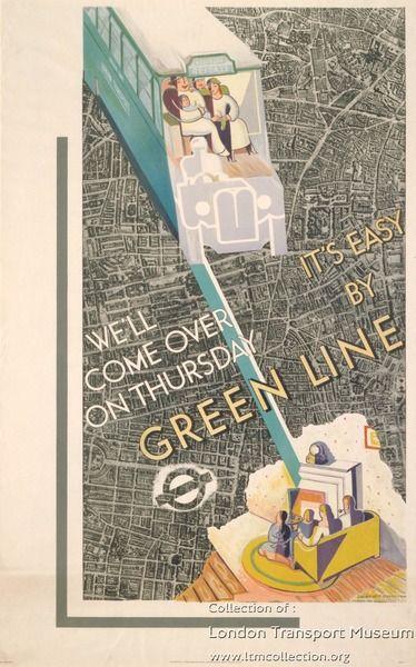 Green line ~ Laurence Bradshaw