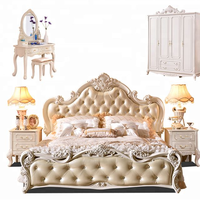 newest ff324 c02d4 Source Traditional Luxury European Style Bedroom Furniture ...