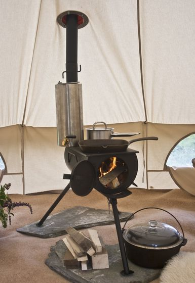 GENUINE Frontier Stove Portable Outdoor Wood Burner