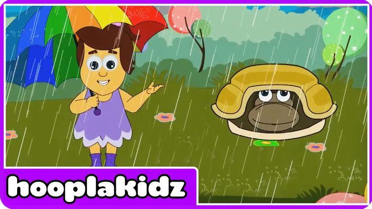 Rain Rain Go Away   Nursery Rhymes by HooplaKidz