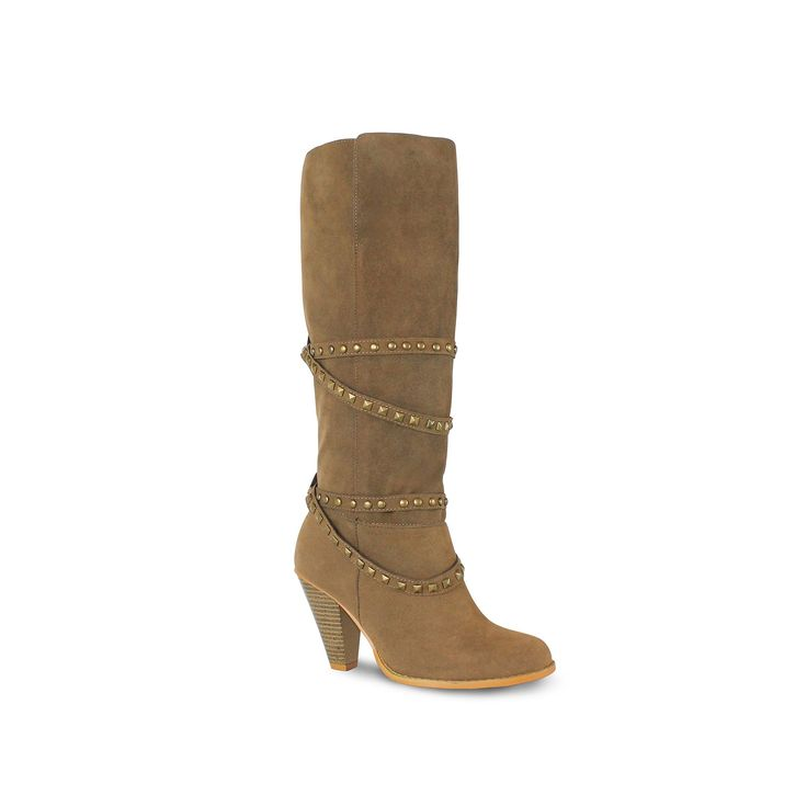 Olivia Miller Winona Women's Riding Boots, Teens, Size: 7.5, Brown
