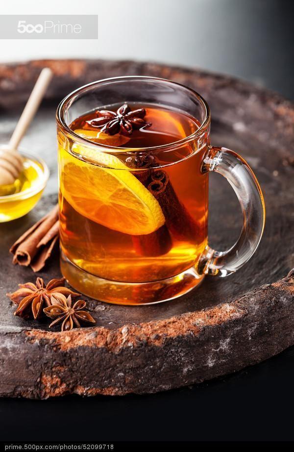 чай с мёдом и специями | 500px Prime