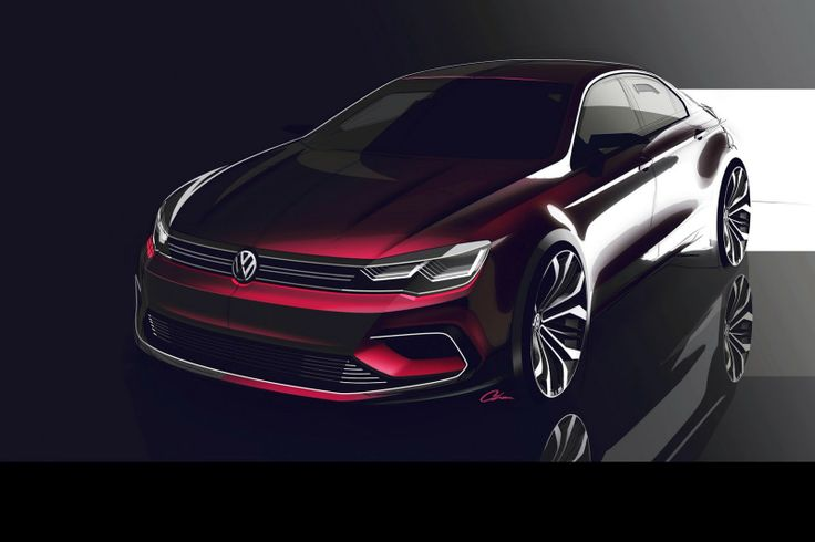 Volkswagen's New Midsize Coupé Sounds Like the Rumored Jetta CC - Carscoops