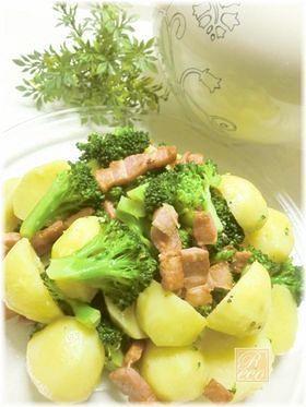 じゃが芋とブロッコリーの温野菜サラダ♪ by Recoty [クックパッド] 簡単おいしいみんなのレシピが264万品