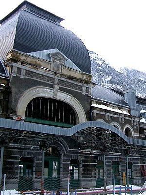 Estación de Canfranc  Pirineo Aragonés  Spain
