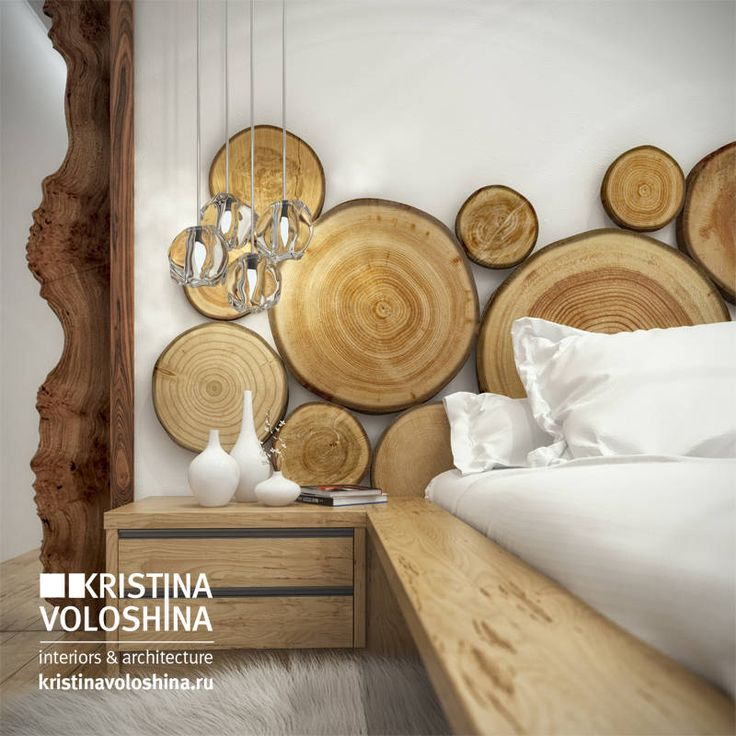 экостиль : Modern bedroom by kristinavoloshina