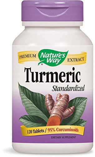 """Nature's Way Standardized Turmeric is guaranteed to have 95% curcuminoids per serving. It has been independently tested by TRU-ID to ensure the authenticity of the Turmeric and is Gluten Free and Vegetarian.       Famous Words of Inspiration...""""Love is life. And if you... more details at http://supplements.occupationalhealthandsafetyprofessionals.com/herbal-supplements/turmeric/product-review-for-natures-way-standardized-turmeric-95-curcuminoids-tru-"""
