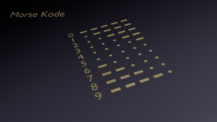 Morse Kode Watch 02