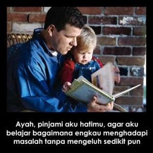 Gambar Kata Kasih Sayang Ayah Kepada Anaknya