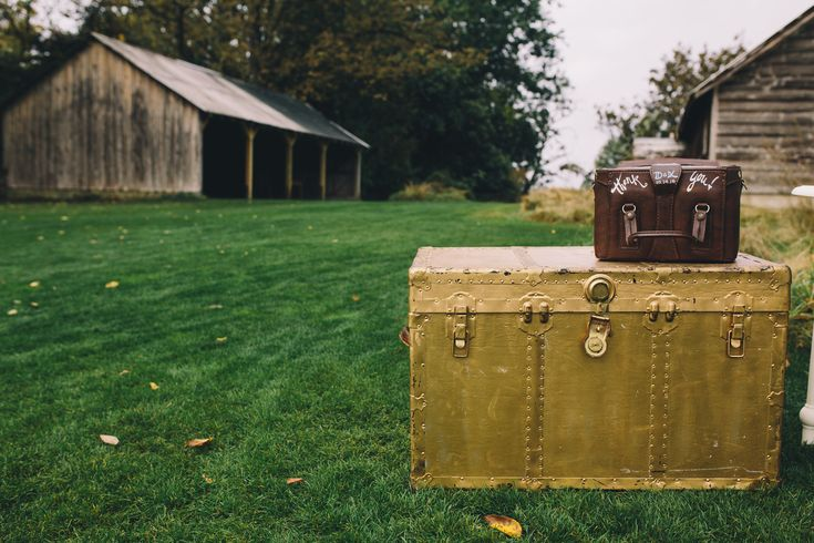 Gold trunk